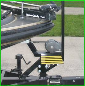 Boat-Board com Boat Trailer Step and Handle - Order Instructions